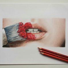 Lips#emmykalia#