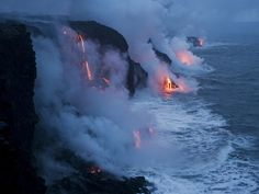 Need to see lava spilling into the ocean before I die.