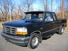 1995 Ford F150 $3975 147K Black