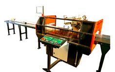 #TigerAngle. Automate the entire angle cutting process with #TigerStop's TigerAngle. The #TigerAngle installation is designed for cutting materials such as #wood, #aluminum and #PVC. The #saw can cut horizontal and vertical# angles and is automatically adjustable for easy, precise and fast production.  #iwf #iwf14