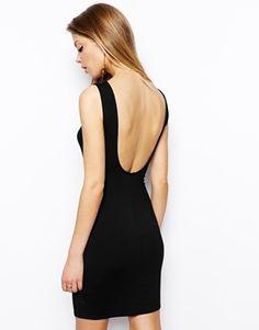 ASOS Low Back Bodycon Dress