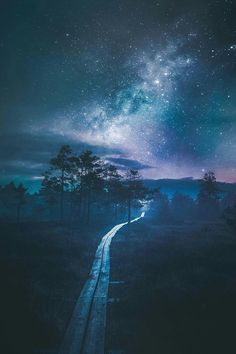 "artofvisualscollective: ""Amazing Photography by Juuso Hämäläinen "" Beautiful Sky, Beautiful Landscapes, Beautiful World, Amazing Photography, Landscape Photography, Nature Photography, Sky Full Of Stars, Mystique, Night Skies"