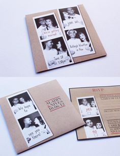 Fun and quirky wedding invitation for Aladin and Nives