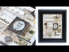 Idea-ology Canvas Video by Shari Carroll for the Simon Says Stamp Blog