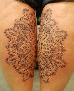 Dotwork pattern for Emma. Tattooed by Dotwork Damian at Blue Dragon Tattoo, Brighton.