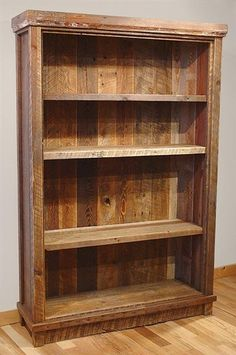 Bradley's Furniture Etc. - Rustic Bookshelves