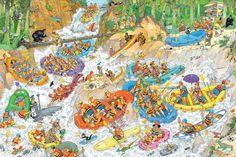 Jan van Haasteren - Wild Water Raften