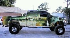The Fish Truck, The mind that thought this one up was in overdrive!!