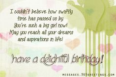 Birthday Wishes for Daughter Messages, Greetings and Wishes - Messages, Wordings and Gift Ideas