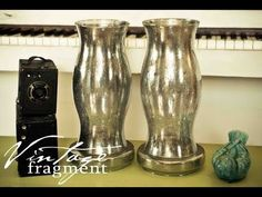 Vintage Fragment: Faux Mercury Glass Tutorial