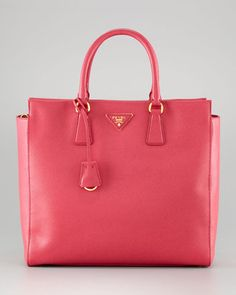 ShopStyle: Prada Saffiano Medium Double-Handle Tote
