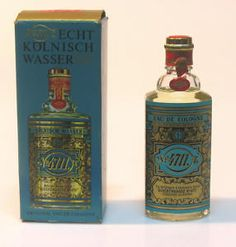 Vintage German 4711 Cologne My Grandparents Loved This Stuff