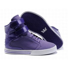 Supra TK Society High Tops Purple/White Men's