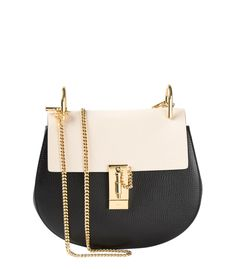 Chloe Bi-Color Drew Bag Black Handbags 12b4e318a717a