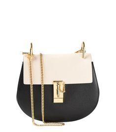 Chloe Bi-Color Drew Bag