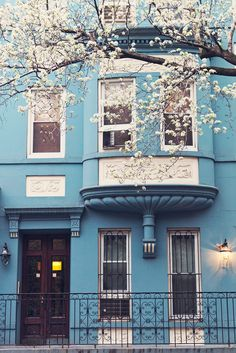 The Blue House - New York City by Moey Hoque