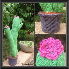 #serialcrocheteuses #grandcactus #crochet #fleur #Padgram