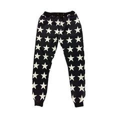 Emoji 3D Star Printing Emoticons Joggers Sweatpants Shirt Sweatsuits ❤ liked on Polyvore featuring activewear, activewear pants, star print shirt, black sweat suit, black star shirt, star sweatpants and sweat pants