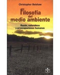 FILOSOFIA DEL MEDIO AMBIENTE