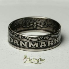 Ring made from 2-kroner coin