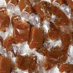 Caramels tendres à la fleur de sel de guérande en sachet de 1 kg