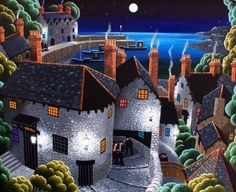 Long Walk Home Clovelly  by George Callaghan