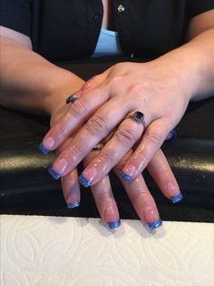 Blue bling #traceysnailslv