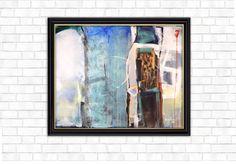 Composition, Acrilic on canvas, 70X100 cm