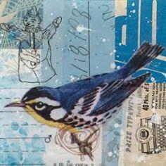 Randel plowman Collage Art, Collages, A Level Textiles, Bird Illustration, Watercolor Bird, Art Journal Inspiration, Art Boards, Art Lessons, Watercolors