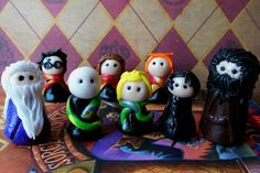 Set of 8 Harry Potter Polymer Clay Figures by TammysLittleCache, $48.00