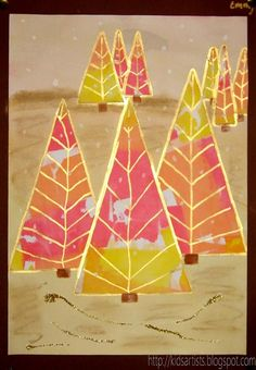Kerstboom - Kids Artists: trees