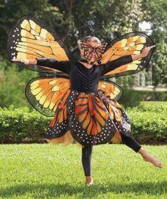 monarch butterfly girls costume