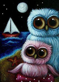 Owl Cartoon, Cute Cartoon, Owl Art, Bird Art, Nocturnal Birds, Whimsical Owl, Beautiful Owl, Wise Owl, Cute Wallpapers