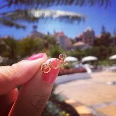 "Dior ""oui"" ring"