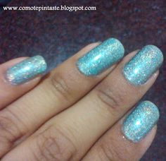 ¿Cómo te pintaste?: Día 19: Galaxias #nails #uñas #comotepintaste #31dias #31daychallenge
