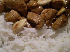 Il ristorante cinese a casa, parte 3: il pollo con le mandorle.