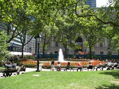 Bowling Green Park | Bowling Green Park and the museum