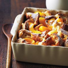 Tender, sweet peaches bring a delicious twist to this classic comfort dessert. Substitute an equal amount of fresh peaches for the frozen if they're in season. Serve warm, with softly whipped cream or vanilla ice cream if desired.