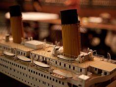 Titanic Experts   Photo: Titanic model