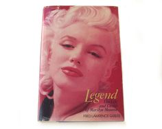 Marilyn Monroe Book Legend The Life and Death by albrechtsantiques, $9.00