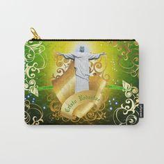 The Cristo Redentor Carry-All Pouch Buy in: Society6.com/rongrafico  #shop #shopDesign #Corcovado #Crito #CristoRedentor #Brasil #Brazil #Latinamerica #Art #DigitalArt #Design #Diseño #GraphicDesign #Diseño Grafico #Society6 #Buy #Buying