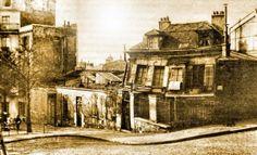 Le Bateau-lavoir en 1900