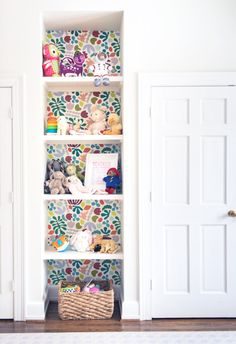 This brightly colored wallpaper is a cheerful addition to any home, dorm room, or work space. All wallpaper is original and hand illustrated by me (Im Kate!) Each roll of self-adhesive (removable) wallpaper can be used to wallpaper a room or can be applied as shelf liner. All