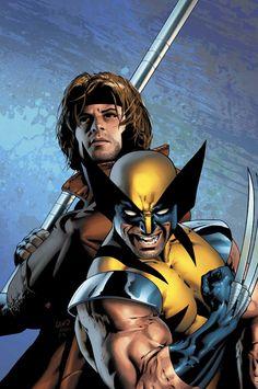Wolverine & Gambit