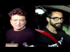 RANGOON movie screening | Shahid Kapoor, Mira Rajput, Sajid Nadiadwala. Mira Rajput, Shahid Kapoor, Gossip, Interview, Music, Youtube, Movies, Fictional Characters, Musica