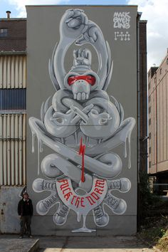 IN STYLE WE TRUST MURALS by Mark Gmehling, via Behance