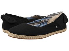 UGG Perrie Black Canvas - Zappos.com Free Shipping BOTH Ways