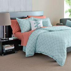 IZOD Basketweave Mini Comforter Set - Bed Bath & Beyond