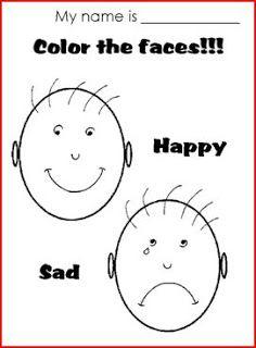 happy sad face coloring page ile ilgili görsel sonucu Opposites Preschool, Preschool Poems, Preschool Activities, English Fun, English Lessons, Learn English, English Class, Nursery Worksheets, Worksheets For Kids