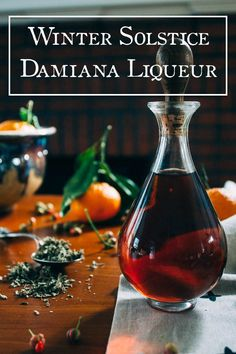 Winter Solstice Damiana Liqueur | Ginger Tonic Botanicals